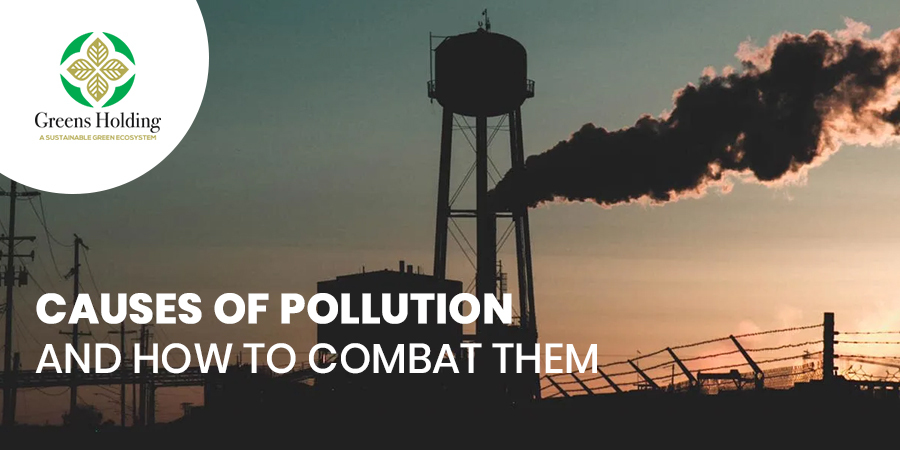 Causes Of Pollution And How To Combat Them