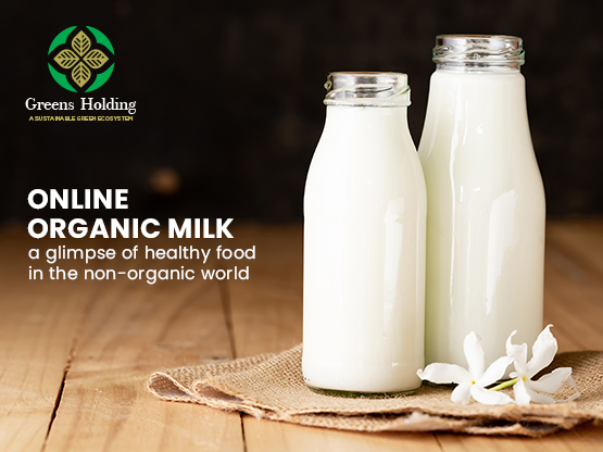 Online Organic Milk – a glimpse of healthy food in the non-organic world
